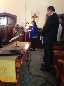 Margaret's Funeral Service 1