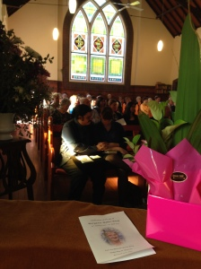 Margaret's Funeral Service 2